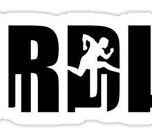 Hurdles Sticker