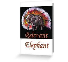 Wild Eelephant Greeting Card