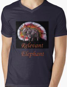 Wild Eelephant Mens V-Neck T-Shirt