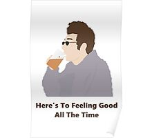 Seinfeld Kramer Feel Good Comedy Fan Art Unofficial Jerry Larry David Funny Poster