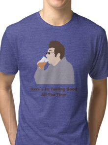 Seinfeld Kramer Feel Good Comedy Fan Art Unofficial Jerry Larry David Funny Tri-blend T-Shirt