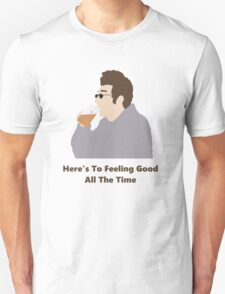 Seinfeld Kramer Feel Good Comedy Fan Art Unofficial Jerry Larry David Funny Unisex T-Shirt