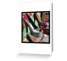 Silver Heels Greeting Card
