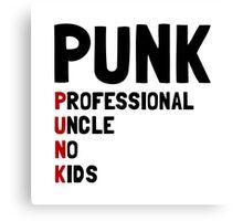 Punk Professional Uncle Canvas Print