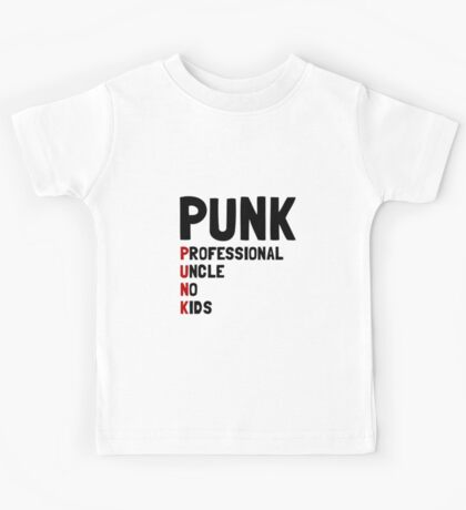 Punk Professional Uncle Kids Tee