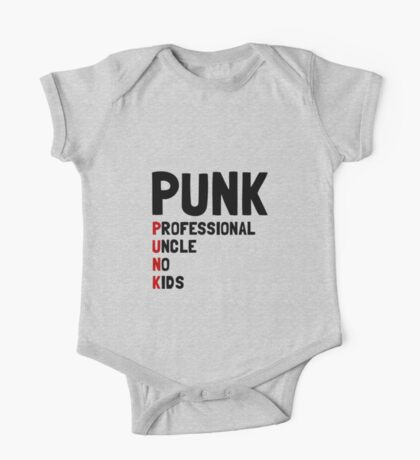 Punk Professional Uncle One Piece - Short Sleeve