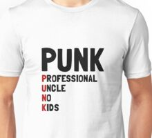 Punk Professional Uncle Unisex T-Shirt