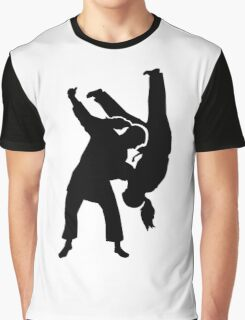 Judo woman girl Graphic T-Shirt