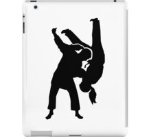 Judo woman girl iPad Case/Skin