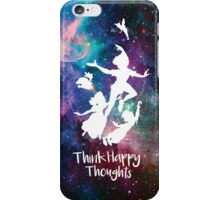 Think Happy Thoughts iPhone Case/Skin