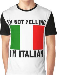Yelling Italian Graphic T-Shirt