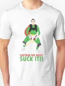 Impractical Jokers Captain Fat Belly Larry Suck It Funny Fan Art Unisex T-Shirt