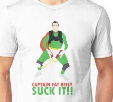 Impractical Jokers Captain Fat Belly Larry Suck It Funny Fan Art Unisex T-Shirt