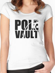 Pole vault Women's Fitted Scoop T-Shirt