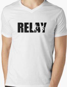 Relay Mens V-Neck T-Shirt