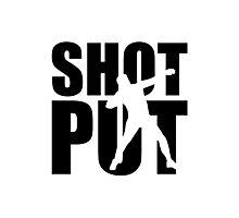 Shot put Photographic Print
