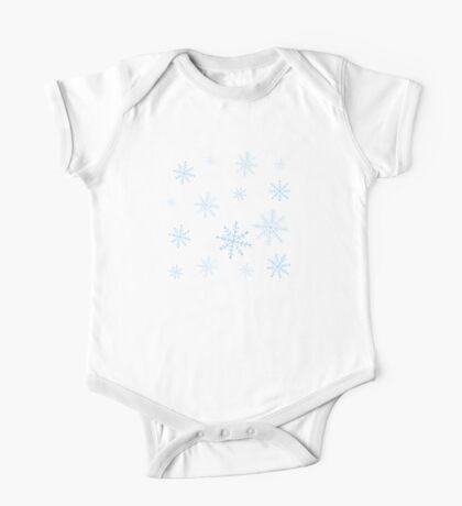 Let it Snow One Piece - Short Sleeve