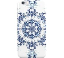 Blue Garden Mandala iPhone Case/Skin
