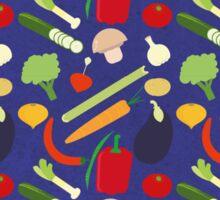 Patterns Vegetables Sticker