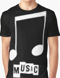 Black Music T-Shirts Graphic T-Shirt