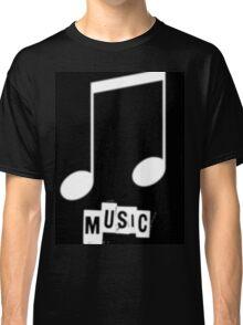 Black Music T-Shirts Classic T-Shirt