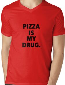 Pizza Mens V-Neck T-Shirt