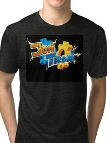 JonTron Logo Tri-blend T-Shirt