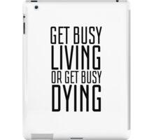 Movie Quote Shawshank Redemption Film Famous Inspirational iPad Case/Skin