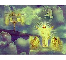 Christ  is risen and alive !!! Photographic Print