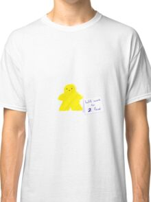 Meeple Worker Yellow Classic T-Shirt