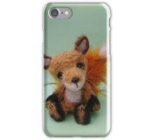 Handmade bears from Teddy Bear Orphans - Freddy Fox iPhone Case/Skin