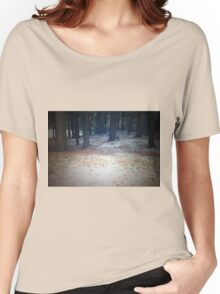Wilnersness Snow Scene Women's Relaxed Fit T-Shirt