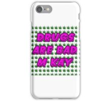 South Park Drugs are bad Funny TV Cartman Comedy Weed Pattern iPhone Case/Skin