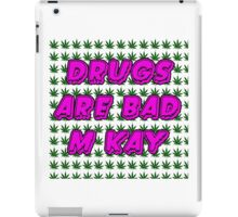 South Park Drugs are bad Funny TV Cartman Comedy Weed Pattern iPad Case/Skin