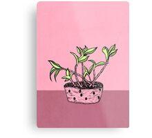 Wonky Flora 2 Metal Print