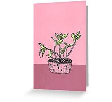 Wonky Flora 2 Greeting Card