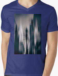 New York Noir 2 Mens V-Neck T-Shirt