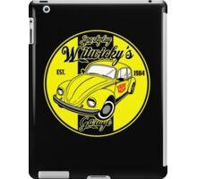 Sparkplug garage iPad Case/Skin
