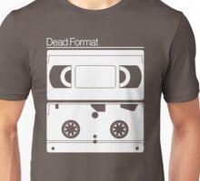 Dead Format - VHS Videotape.  Unisex T-Shirt