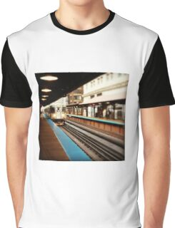 Chicago Train Graphic T-Shirt