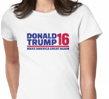 Donald Trump 2016 Womens Fitted T-Shirt