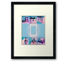 The 1975 Blue  Framed Print