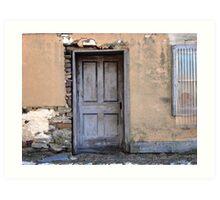 The Barn Cellar Door Art Print