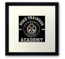 Pokemon Academy Framed Print