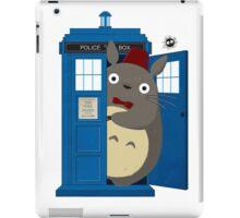 totoro Police Box iPad Case/Skin