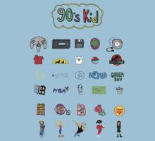 90s Kid One Piece - Short Sleeve