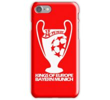 Bayern Munich Champions League iPhone Case/Skin