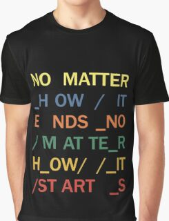 No matter - In Rainbows Graphic T-Shirt