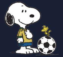 Snoopy Football One Piece - Short Sleeve