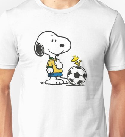 Snoopy Football Unisex T-Shirt